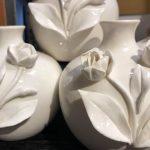 petite white flower bud boutique vases rockford il