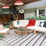 striped patio porch rug indoor-outdoor