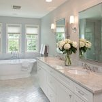 elegant white double vanity cabinet by durasupreme