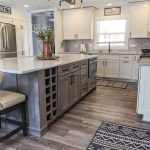kitchen remodel with a custom island