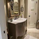 freestanding bathroom vanity and quartz vanity top